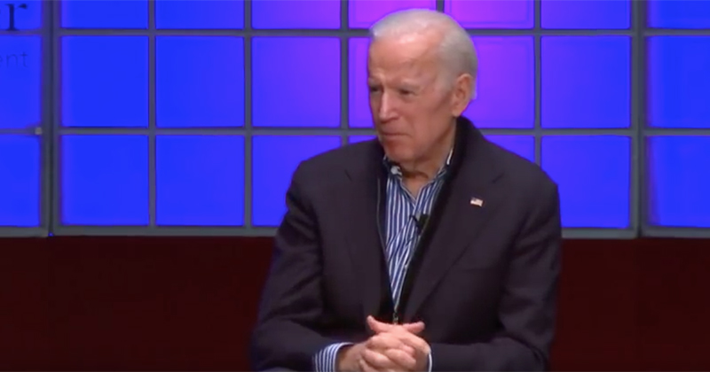 Joe Biden Accuses America Of Racism At Racist Event