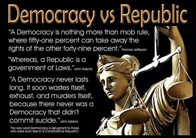 Why Socialists Want Us To Believe We're A Democracy & Not The Republic We Are