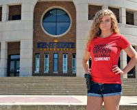 Gun Girl Kaitlin Bennett From Kent State Wins Round 1 In Lawsuit Against University
