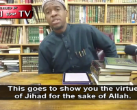 "New York Muslim Cleric: ""Trying To Take Jihad From The Quran & The Sunnah Is Trying To Take Sweetness Out Of Honey"""