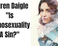 Modern Day Professed Christian Singer Lauren Daigle Couldn't Answer the Questions! Where is Christ?
