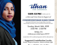 Ilhan Omar Holding Secret Fundraisers With Hamas-Linked CAIR & Terror-Linked Muslim Charity