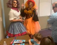 "Dallas:  Parents Mobilize To Protest ""Drag Queen"" Reading To Small Children ""What Color Is Your Underwear"""