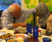 Bernie Sanders Uses Presidential Campaign To Fundraise For Jihad Rep. Ilhan Omar's Reelection