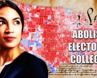 "AOC Takes Ignorant Shot At Founding Fathers:  ""The Electoral College Is A Scam"""