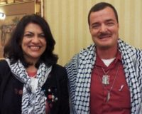 Jihad Rep. Rashida Tlaib Photographed With Another Terrorist-Supporting Fan