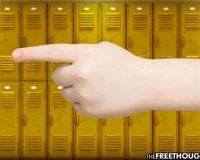 "Kansas:  Bullied 12-Year-Old Girl Arrested – Charged With Felony For Pointing A ""Finger Gun"" At Students"