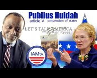Alan Keyes & Publius Huldah Connect The Dots On The USMCA, An Article V Convention, North American Union & Gun Confiscation (Video)