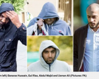 UK:  Muslim Child Rape/Sex Trafficking, Grooming Gang Jailed For 'Systematic' Sexual Abuse Of Huddersfield Schoolgirls