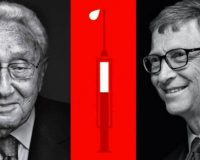 Globalists Henry Kissinger & Bill Gates Call For Worldwide Vaccinations & One World Government (Video)
