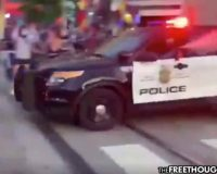 Minneapolis:  Video Of Cops Conducting Drive-By Pepper Spraying Explains Why People Are Angry