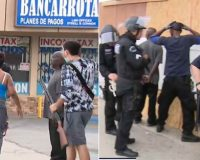 Live TV: Tyrannical Cops Detain Armed Store Owners Protecting Their Property While Looters Run Off