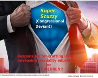 Congressional Deviance For Children Straight Ahead