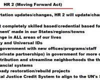 Progress Tyranny:  The Moving Forward Act