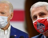 Fauci Supports Biden's Mandatory Mask-Wearing In Violation Of The Law!