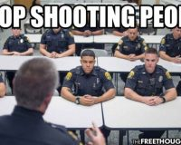 Unconstitutional:  DOJ Building National Police Training Center To Teach Cops To Use Less Excessive Force