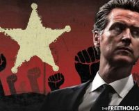 California:  Police Departments Refuse To Enforce Newsom's Tyrannical Thanksgiving COVID Measures