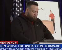 USPS Subcontractor Whistleblower Claims Nearly 300,000 Completed Ballots Vanished From His Truck