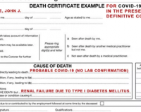 REPORT: CDC Changed COVID Criteria That Inflated Fatalities 10-Fold