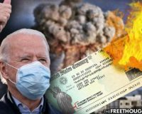 As Americans Wait For $2,000 Checks, Biden Has No Problem Bypassing Congress to Bomb Syria