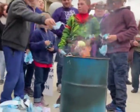 Idaho:  Families Burn Heaps Of Masks In Protest At Capitol (Video)