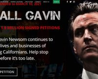 Recall Gavin 2020 Reaches Its Goal Of 1.8 Million Signatures – Goes Over By More Than 100,000