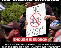 North Dakota Makes A Law, No More Mask Mandates!  Not To Say That It Ever Was Law….
