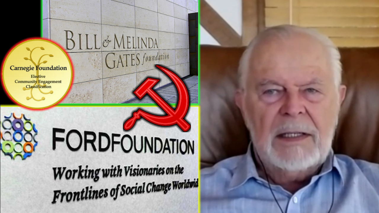 G. Edward Griffin: Tax-Exempt Foundations Pushed Communism At Direction Of President Of US » Sons of Liberty Media