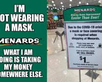Mask Nazi Menards: Attacking Their Customers & Hurting The Police
