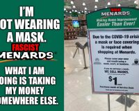 Unmasking Menards LIVE:  The People Protesting The Fascist Mask Nazis (VIDEO)