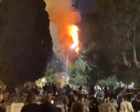 Temple Mount In Jerusalem Set On Fire (Video)