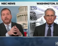 Fauci Appears On Meet The Press Pulling Information Out Of Thin Air (Video)