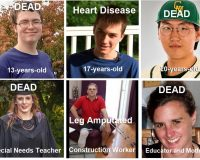 More Censorship, More Deaths By Lethal Experimental Injections: Now It Is The Kids!
