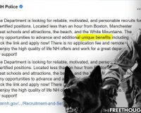 """Police Department Shamelessly Lists """"Qualified Immunity"""" As A """"Unique Benefit"""" In Job Posting"""