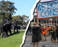 Despite Horrifying State Violence, Brave Australia Continue To Resist COVID Police State (Video)