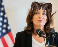"""Antichrist NY Governor Kathy Hochul: """"God Wants You To Be Vaccinated… Be My Apostles"""" (Video)"""