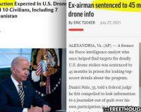 Biden Sets Precedent:  Kill Children With A Drone, No Discipline – Tell People About It, Go To Prison