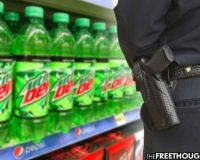 Pennsylvania: Man Jailed On $50,000 Bond – Facing 7 Years For Accidentally Underpaying For A Soda By 43 Cents!