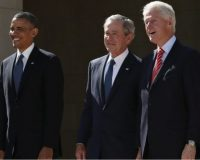 We All Knew That There Was No Difference: Clinton, Bush, Obama Team Up With Biden To Sell-Out Americans