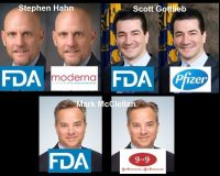 Conflict Of Interest: Former FDA Commissioners Are Employed AT All 3 FDA-Authorized COVID Shot Companies