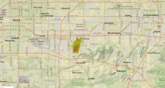 700 Quakes Hit Key California Seismic Zone - Tar Bubbling Up Through Streets Of Los Angeles