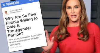 "Heterosexuals Who Reject Dating Transgenders Now Dubbed ""Transprejudice"" - Re-Education To Follow"