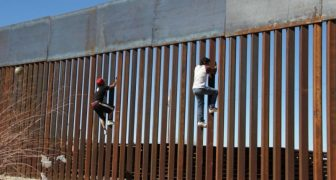 After Illegals Attempted Scaling New Wall, They Got A Rude Awakening