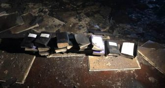 West Virginia:  Church Burns Down - Not A Single Bible Touched By Flames